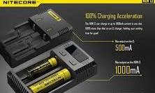 Nitecore i2 Battery Charger (2-Bay)1
