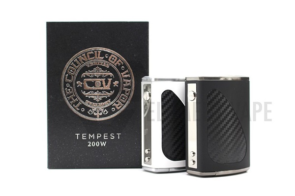 Council of Vapor Tempest 200W TC Box Mod - 4