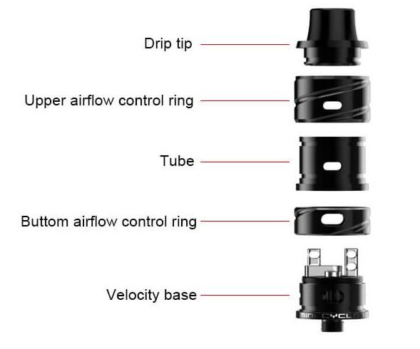 Fumytech Mini Cyclon RDA - Two-Post - IVape Pro