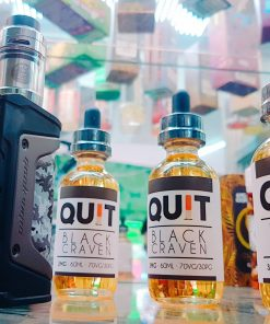 tinh dầu vape tobacco thuốc lá quit black craven