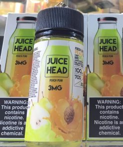 Juice head Peach Pear eLiquid 100ml tinh dầu vape Mỹ